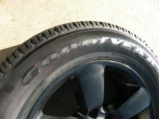 "20"" Factory Dodge RAM Wheels 1500 Goodyear Tires 2013 2014 Matte Black"