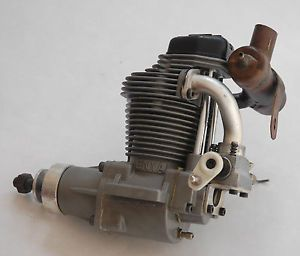 Used Enya 120 4c RC Airplane Engine with Test Stand