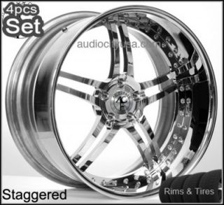 """20"""" AC Forged Wheels and Tires Pkg for Mercedes Benz 3pc Forged Rims"""