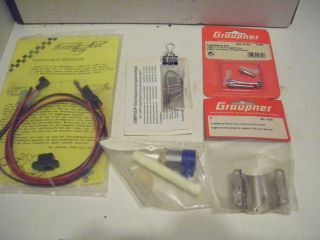 RC Control Line Model Airplane Parts Lot Preowned in Packages See Pics