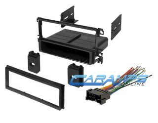 Hyundai Car Stereo Radio Dash Installation Mounting Trim Kit with Wire Harness