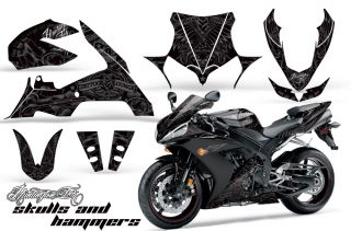AMR Motorcycle Sticker Kit Yamaha R1 2004 2005 Parts