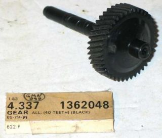 1965 1981 GM Speedometer Gear 40 Tooth 1362048