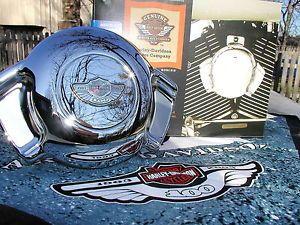 Harley Davidson 100th Anniversary Medallion Horn Cover