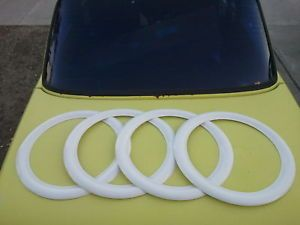 15 Vintage Car Truck VW Bug Bus Ghia Chevy GMC Whitewall Wheel Tire Rim Wheel