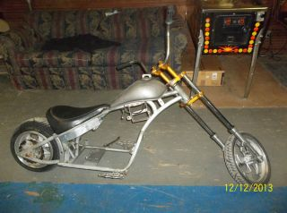 Mini Bike Minibike Frame Custom Wheels Rupp Project Custom Chopper