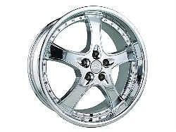 """19""""x8 5 adr 95 Chrome Wheels Rims Audi A4 A6 Mercedes Benz MBZ CLS CLK VW"""