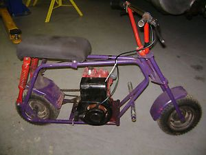 Vintage Minibike w EXTRAS Rupp Ruttman Heath Kit Antique Mini Bike Arco NJ
