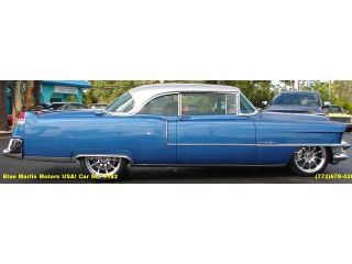 1955 Classic Cadillac Coupe DeVille cts V Resto Mod Update LS 2 Engine 6 Speed