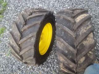 Carlisle Tru Power Tires 23x10 50x12 John Deere Rims 140 120 112 Cub Cadet