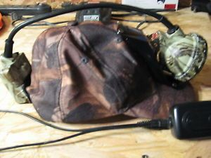 New Coon Hunting Coonhunting LED Lite Light and Cap 3 Stage Very Bright