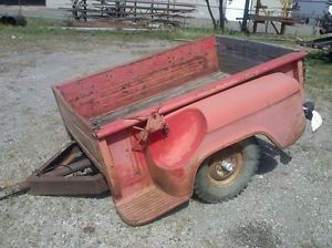 1955 1956 1957 1958 1959 Chevy Chevrolet Pickup Truck Bed Trailer