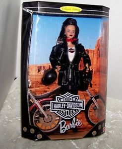 Harley Davidson Barbie Collector Edition 1998