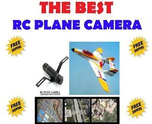 RC Plane Airplane Helicopter FPV Spy Video Camera Radio Remote Control Aircraft