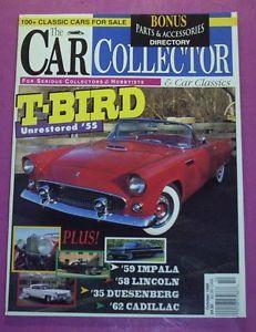 Car Collector Car Classics Magazine Oct 1995 T Bird Unrestored '55