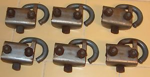 1964 Chevy Pickup Truck Short Bed Tie Down Hooks Set of Six GMC 60 66 67 72