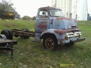 1954 Ford Cabover Truck Parts Truck