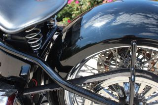 Custom Chopper Bobber: Motorcycle Parts