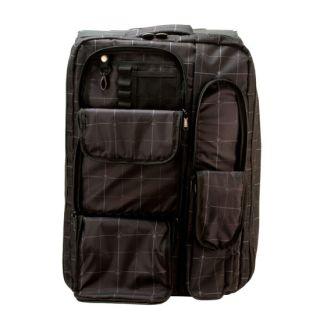 Sullen BLAQ PAQ Black Tattoo Artist Traveler Bag Backpack 3 Storage Cases