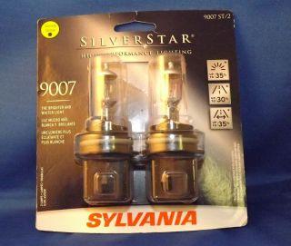 Brand New Sylvania Silverstar Ultra 9007 Su 2 Nightvision Headlight Bulbs