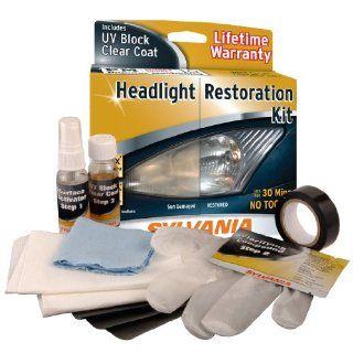 New Sylvania Polishing Car Headlight Restoration Kit UV Protection Free SHIP