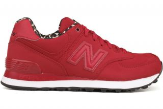 574 Series High Roller Pack WL574SPR New Womens Red Running Shoes