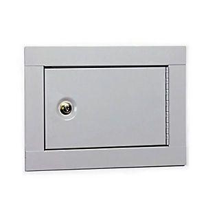 Home Office in Wall Metal Jewerly Cash Pistol Gun Safe Box Cabinet w Shelf New