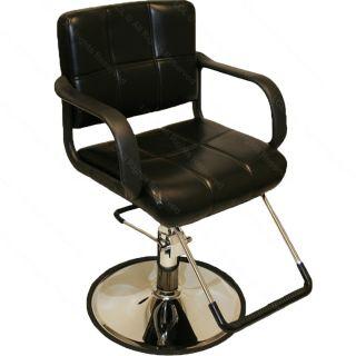 Professional Black Hydraulic Styling Barber Chair Hair Beauty Salon Equipment