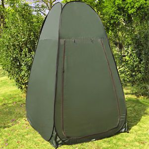 Green Camping Portable Changing Tent Camping Toilet Pop Up Room Privacy Shelter