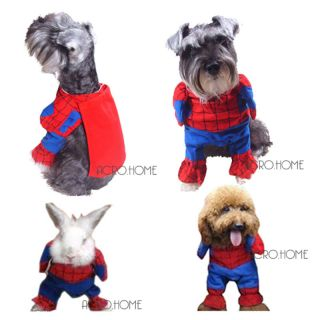13 22lb Dog Pet Cat Rabbit Comics Sci Fi Character Spiderman Costume Masquerade
