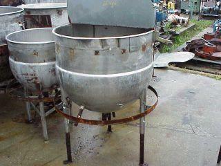 60 Gallon Stainless Steel Tank Kettle w Jacket in NJ
