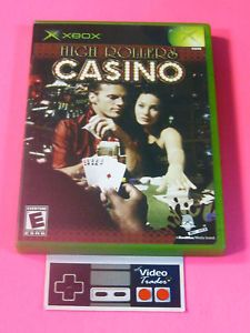 High Rollers Casino Original Xbox Game Complete Rated E 093155124905