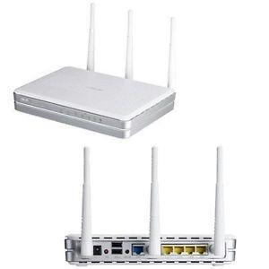ASUS RT N16 300 Mbps 4 Port Gigabit Wireless N Router