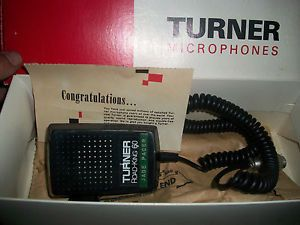 Turner Road King 60 Microphone for CB Radio Vintage with