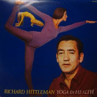 "Richard Hittleman 2x12"" Vinyl LP Gatefold Yoga for Health Shorepak YH 101 VG VG"
