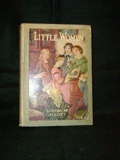 Antique Childrens Books 4 Little Women Miss Kitty Boy Scouts Shirley Temple