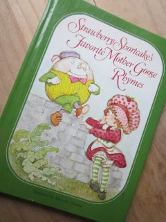 Vintage Book Childrens 1980s Strawberry Shortcake Mother GOOSE Rhymes