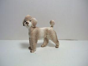 Vintage Poodle Dog Figurine