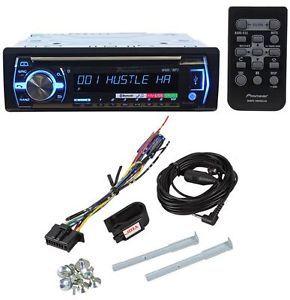 Pioneer DEH X6500BT CD  USB iPod Player Car Stereo Receiver Bluetooth Pandora
