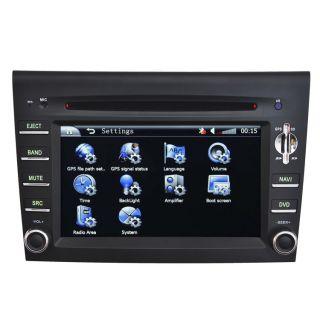 Car GPS Navigation Radio HD Touch Screen TV DVD Player for 2005 08 Porsche