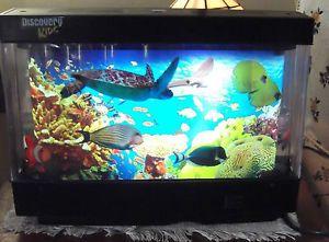 Discovery Kids Animated Marine Lamp Rotating Night Light 3D Fish Aquarium