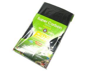 """Ista Super Activated Carbon Media Filter Sponge 18x10"""" Aquarium Bio Sponge Foam"""