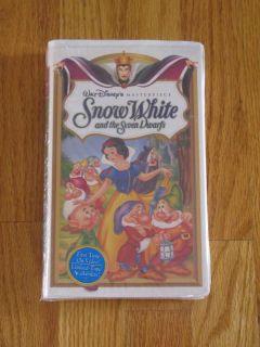 NIP Walt Disney's Snow White and The Seven Dwarfs VHS 717951524034