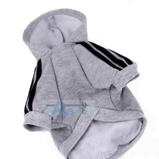 Pink Puppy Dog Cat Coat Clothes Hoodie Sweater T Shirt Costumes Size M P47 E M