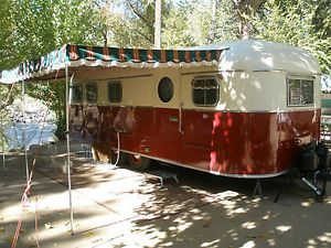 "1951 Vintage Travel Trailer ""M Systems"""