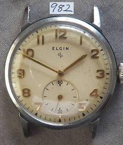 Vintage Lord Elgin Mens Wrist Watch