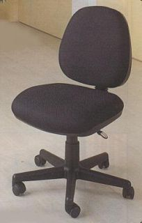 Black Secretary Chair by Coaster Furniture 4200