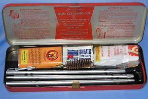 J C Higgins 2140 Shotgun Cleaning Kit  Roebuck Vintage Gun Equipment