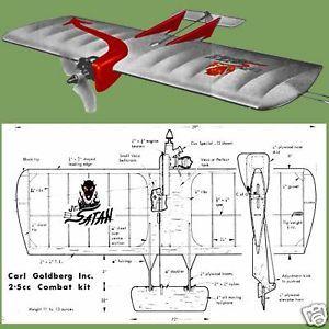 Control Line Combat Airplane Article F s Plans