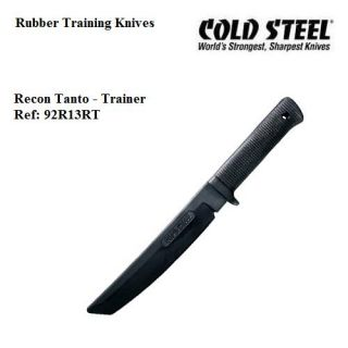 Recon Tanto Rubber Training Knife Cold Steel